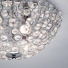 glass bead reflects light flush matching bathroom wall lights chandelier and