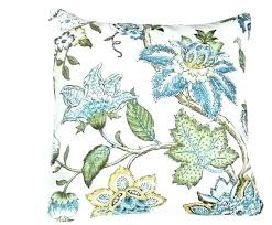 blue and green throw pillows. Blue And Green Decorative Pillows Floral Throw Pillow .