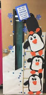 penguin door decorating ideas. Penguin Door Decorating Ideas Christmas Classroom Decorations, Cute