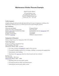 Housekeeping Resume Examples Of Housekeeping Resumes Home Cleaning Resume Sample 60