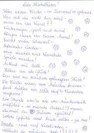 Gedicht Dankeschn