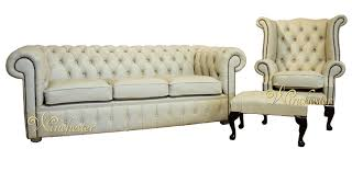 chesterfield cream leather sofa offer 31 footstool chesterfield sofa leather 3