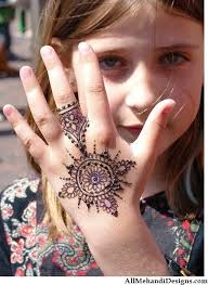 Small Picture Cute Mehndi Designs for Kids Beautiful Henna Pattern