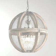 large wood chandelier lamp distressed white globe regarding rectangular gallery rustic metal and chan