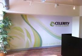 Small Picture corporate office wall graphics for celebrity 3d sign logo on wall