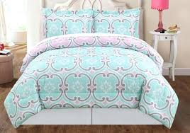 teal and gray bedding sets pink green queen comforter trend mint