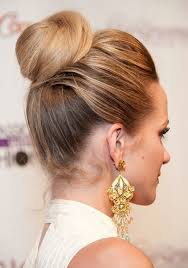 cute bun hairstyles 2017 twisted updo hairstyle