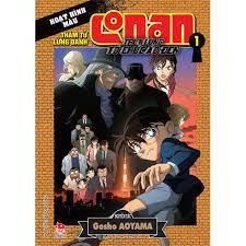Sách - Thám Tử Conan Hoạt Hình Màu: Truy Lùng Tổ Chức Áo Đen - Tập 1 chính  hãng 47,500đ
