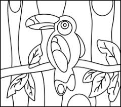 Small Picture Toucan Coloring Page Printables Apps for Kids