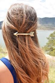 The New Arrow Hair Clip Is