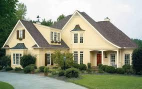 Best Exterior Paint Combinations Home Design Ideas - Paint colours for house exterior