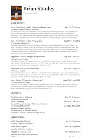 Er Nurse Resume Sample Nurse Resume Pdf By Cristal Nurse Resume