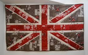 Shabby Chic Union Jack Wall Hanging Â« Moda Bake Shop & One 36″ X 60″ Shabby Chic Union Jack Wall Hanging. Adamdwight.com