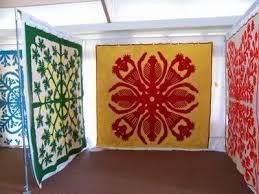 109 best Hawaiian (quilts, etc.) images on Pinterest | 3/4 beds ... & beautiful hawaiian quilts at Kauai quilt show Adamdwight.com