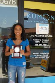 Kumon Math And Reading Kumon Of Los Alamitos Success Stories