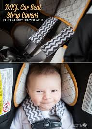 diy car seat strap covers perfect baby shower gift