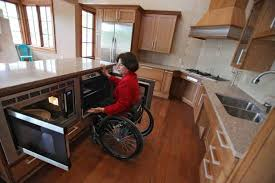 Universal Design Living Lab Accessible Oven
