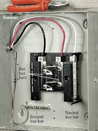 installing an electrical subpanel how to install appliances connect wires to terminals enlarge image