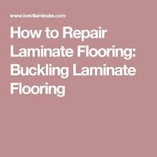 How To Repair Laminate Flooring: Buckling Laminate Flooring