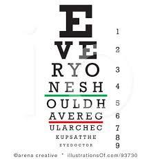 Eye Doctor Clip Art Royalty Free Rf Eye Chart Clipart