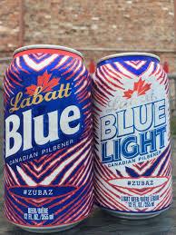 Labatt Blue Light Zubaz