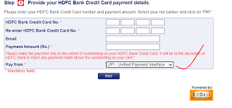 At the end of the day, all the aggregated amounts are settled to. Hdfc Credit Card Bill Payments Through Other Banks Upi Cred App