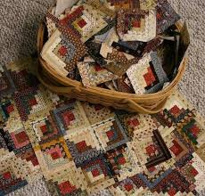 39 best Log Cabin Quilts images on Pinterest | Book, Cushions and ... & Log cabin Primitive quilting Adamdwight.com
