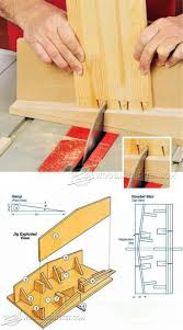 Hart Design Dovetail Jig Table Saw Dovetail Sled Joinery Tips Jigs And Techniques