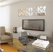 tv background wall decoration crystal 3d acrylic wall stickers decorate living room sofa door wall decals