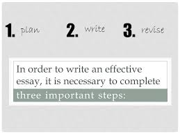 rhetoric and composition essay writing    in order to write an    in order to write an effective essay  it is necessary to complete three important steps