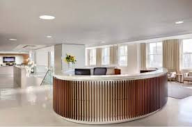 office front desk design design. Round Reception Desk Design For Luxury Medical Office Ideas With Simple Recessed Lighting Front