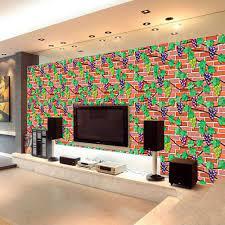 Skywolfeye 3D Wall Paper Brick Stone ...