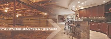 crawlspaces 2 basements