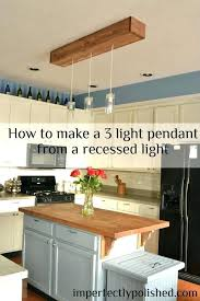 replace can light with pendant s s replacing pendant light with led downlights replace can light with pendant