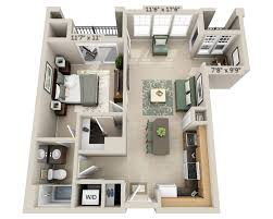 One Bedroom Floor Plans And Pricing For Signal Hill Woodbridge