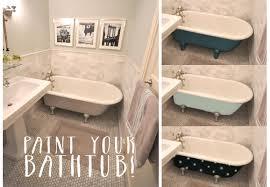 fresh interior al of can i paint my bathtub with