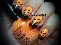 Halloween fingernail ideas - how you can do it at home. Pictures ...
