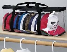 Image is loading Hat-Storage-Baseball-Cap-Rack-Closet-Box-Organizer-