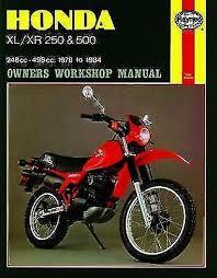 motorradteile honda xl 500 s 1981 1982