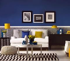 40 Charming Blue And Yellow Living Room Design Ideas Rilane Impressive Yellow Living Rooms Interior