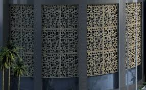 aluminum perforated hollow panel for curtain wall with art design aluminum panel wall art