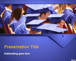College Ppt Templates Free Graduation Ceremony Powerpoint Template