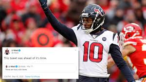 And rent is due every day. Deandre Hopkins Trade Houston Texans Players And Fans React To Blockbuster Deal With Cardinals Abc13 Houston