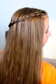 Pretty Girls Hairstyle dutch waterfall braid cute girls hairstyles cute girls hairstyles 8634 by stevesalt.us