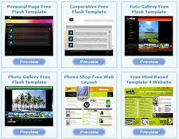 Flash Website Templates Delectable 48 Free Flash Templates Download Website Nttcc