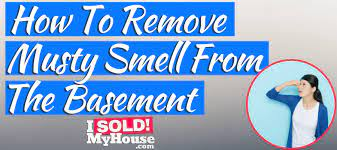 get rid of musty smell in basement