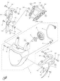 2015 yamaha fz 07 fz07fr headlight parts best oem headlight parts rh bikebandit 1967 camaro headlight assembly diagram e46 headlight parts diagram