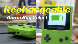 Gameboy Micro Charging Lights Adding A Rechargeable Battery To Your Game Boy Color