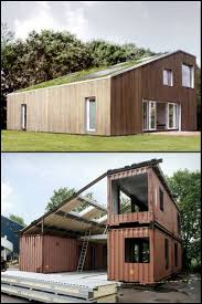 Three Containers + Imagination = Ample Space This is a container home! It's  full of
