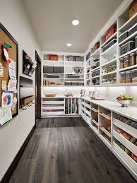 inspiration for a large country l shaped kitchen pantry in portland with open cabinets